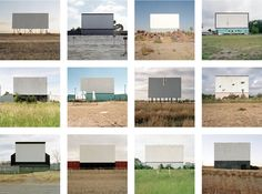 Jeff Brouws. Selections from Abandoned Drive-In Theaters Portfolio ...