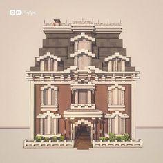 Cute Minecraft Houses, Minecraft Mansion, Minecraft Funny, Minecraft Plans, Minecraft City, Amazing Minecraft, Minecraft House Designs, Minecraft Construction, Minecraft Tutorial
