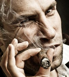 You only look that tough because of the #cigar!