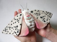 Fabric moths by yumi okita