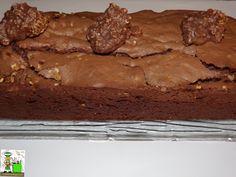 RECETAS DEL SUR: Bizcocho de chocolate con almendras