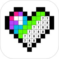 Color By Number Coloring Game By Fun Games For Free Coloring Book App Coloring Apps Color By Numbers