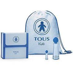 Tous Kids Boy Gift Set,Eau De Toilette 100ml/3.4oz Spray Miniature and Backpack