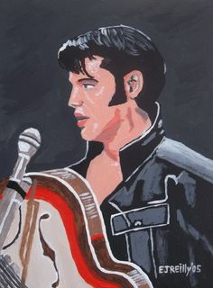 MALES (The Art of Eamon Reilly) Female Of The Species, Elvis Presley, Movie Posters, Painting, Portraits, Music, Art, Art Background, Film Poster