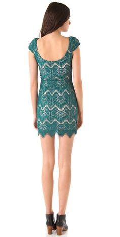 Nicholas Rebecca Lace Dress,back