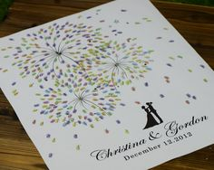 Image from http://i00.i.aliimg.com/wsphoto/v1/2021358104_1/42x52CM-100-guests-Unique-Firework-Wedding-Fingerprint-Guestbook-Canvas-Wedding-Guest-Book-casamento-arvor-for-bridal.jpg.