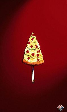 Merry Christmas | Domino's Pizza #food #ads