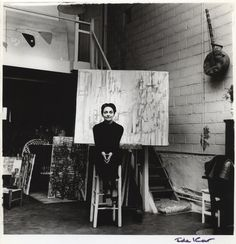 Maria Helena Vieira da Silva by Ida Kar vintage bromide print, 1960 National Portrait Gallery collection Mark Rothko, Eccentric Style, New York Museums, National Portrait Gallery, Creature Feature, Portraits, Drawing Techniques, Abstract Expressionism, Art World