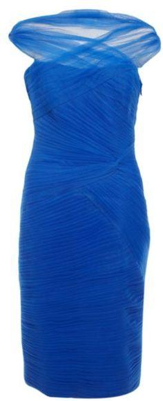 Monique Lhuillier Tulle Dress