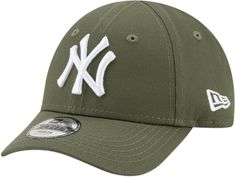 size 40 96e06 a3a74 NY Yankees New Era 940 Stretch Fit Infants Olive Cap (0-2 years)