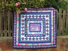 robin quilt, quilt project, medallion quilt, quilt idea