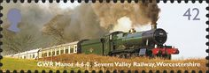 Royal Mail Special Stamps | Classic Locomotives. Preserving the Steam Age GWR Manor 4-6-0. Severn Valley Railway, Worcestershir
