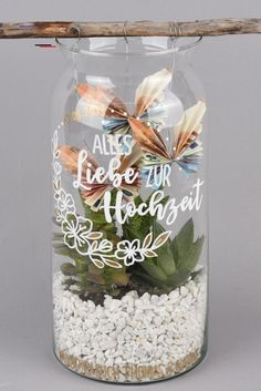 Three beautiful DIY money gifts for the wedding Diy gifts, Wedding decoratio . - Three beautiful DIY money gifts for the wedding Diy gifts, wedding decorations, wedding gifts - Don D'argent, Diy Wedding Gifts, Wedding Crafts, Wedding Favors, Jar Gifts, Engagement Ring Cuts, Stampin Up, Diy And Crafts, Wedding Decorations