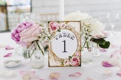 Pretty table names. For more ideas, visit top UK wedding blog, http://www.styleandthebride.co.uk/brenda-chriss-stunning-wedding-ibiza/