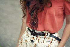 Florals and bright colors
