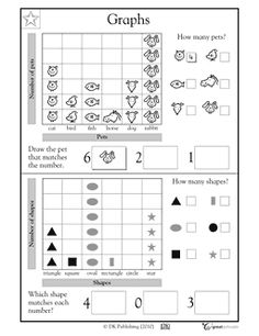 pack contains both color and B/W posters to review charts and graphs ...