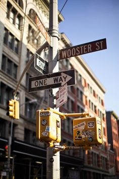 Wooster Street in Soho, #NYC