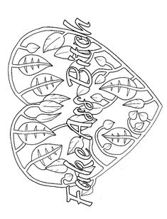14 FREE Printable Swear Word Coloring Pages at Swearstressaway.com - This swear word coloring page comes from the book Sweary Animals available on Amazon. Swear Stress Away has many coloring books for grown-ups and adults that contain plenty of colorful language. Also You can get free printable swear word coloring pages when you sign up at swearstressaway.com. Heart - Fake Ass Bitch