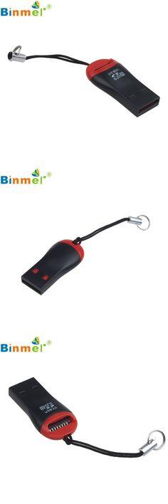 [Visit to Buy] Factory Price Binmer Hot Selling New High Speed Binmer USB 2.0 Mini Micro SD T-Flash TF M2 Memory Card Reader Drop Shipping #Advertisement