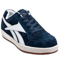 these Reebok Men s Navy Soyay EH Steel Toe Skateboard Work Shoes are the  perfect pair of work footwear for you. Not a skateboarder  These steel toe  tenni dba35bd9d