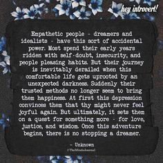 Overly empathetic person will tend to feel into their partner's shoes, Here are 8 Challenges Unique to the Empathetic People Empath Traits, Intuitive Empath, Psychic Empath, Empathetic People, Quotes To Live By, Life Quotes, Crush Quotes, Relationship Quotes, Qoutes
