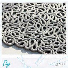 #Creo #Diy #canvas #carpet #rope #decor #home