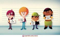 Factor 15 is een magazine uitgegeven door de Raad voor de Kinderbescherming (Ministerie van Veiligheid en Justitie). Het verschijnt vijf keer per jaar en is bestemd voor alle medewerkers. Naast nieuws en interviews lenen vooral achtergrond- of theoretische artikelen zich uitstekend voor illustratieve vormgeving. Regelmatig levert Comic House-auteur Jelle Gijsberts een bijdrage met vrolijke, kleurrijke illustraties.
