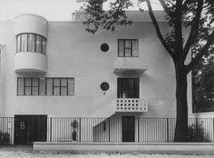 Bomsel residence. Versailles. André Lurçat 1925.