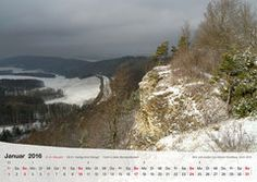 Fotokalender Thüringer Landschaften 2016, Januar