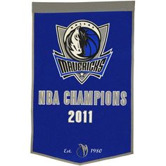 Dallas Mavericks Dynasty Banner, Team