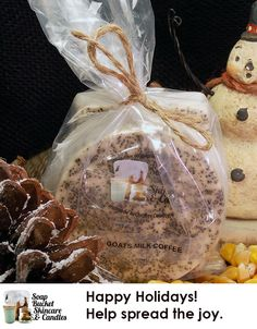 What's better than a hand-poured luxury goats milk soap with coffee to exfoliate and soften your skin? How about two for $8.00?  See our wwebsite for details. Special Sale till December 5th 25% off #BlackFriday #SmallBusinessSaturday #CyberMonday www.soapbucketskincare.com