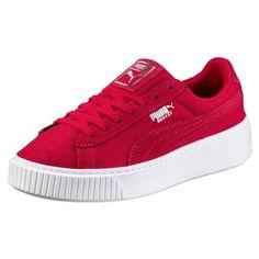 Basket Platform DE Women's Trainers (€87) ❤ liked on Polyvore featuring shoes, sneakers, platform sneakers, platform trainers and platform shoes