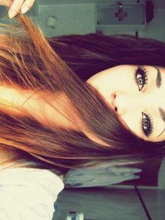 hair + eyes