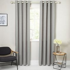Buy John Lewis Barathea Lined Eyelet Curtains From Our View All Ready Made Panels Range At
