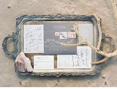 Loving this sea and sand wedding inspiration shoot by Kyle John Photography via @hochzeitsguide!