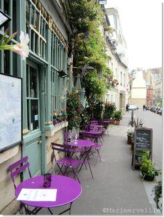 Au vieux paris d'Arcole, la petite terrasse | color