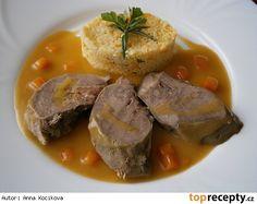 Vepřový jazyk s rozmarýnem-pro rychlejší přípravu v papiňáku No Salt Recipes, Pot Roast, Pork, Meat, Ethnic Recipes, Women's Fashion, Life, Carne Asada