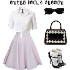 """Grease - Modern Day Sandy"" by styleiconscloset on Polyvore"