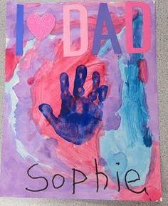 preschool/k fathers day card