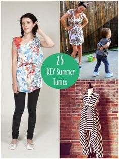 25 DIY Summer Tunics to Start Layering Now