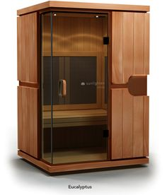 The mPulse Believe is a full-spectrum infrared home sauna for two to three people that features Solocarbon heating technology, available exclusively from Sunlighten Saunas, Home Design, Interior Design, Home Infrared Sauna, Infared Sauna, Tall Cabinet Storage, Locker Storage, Portable Sauna, Relaxation Response