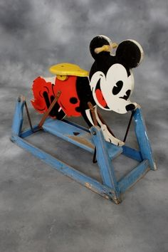 Triang rocking Mickey Mouse - rocking horse