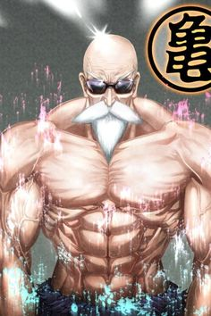 Dragon Ball Z : Baddass Master Roshi (Muscle of the Champions : Beware Mister Satan xD).: