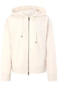 Juvia Damen Sweatjacke mit Kapuze Beige | SAILERstyle Loungewear, Hooded Jacket, Athletic, Hoodies, Sweaters, Jackets, Fashion, Cotton, Women's