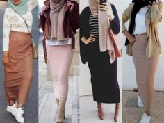 pencil skirts hijab style-Hijab style collection – Just Trendy Girls