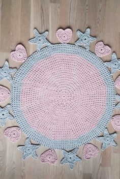Tapestry Crochet Patterns, Baby Knitting Patterns, Crochet Stitches, Crochet For Kids, Crochet Baby, Crochet Carpet, Granny Square Crochet Pattern, Crochet Tablecloth, Square Patterns