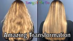 Color Wow Dreamcoat Sabrie's Amazing Transformation ver 2 - YouTube