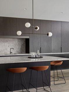 Kitchen Ceres Gable House by Tecture est living Home Decor Kitchen, Rustic Kitchen, New Kitchen, Home Kitchens, Kitchen Pantry, Kitchen Layout, Kitchen Colors, Kitchen Living, Kitchen Ideas