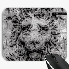 Mousepad - Heraldic lion - by PINO