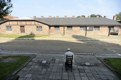 Pope Francis, in almost total silence, walked through the Nazi death camp during his visit to Poland.